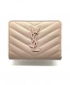 Saint Laurent Paris()の古着「2つ折り財布」|ピンク