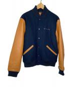 ()の古着「SWAYNIK JACKET」 ネイビー×ブラウン