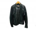 HARLEY-DAVIDSON(ハーレーダビットソン)の古着「リフレクティブ3in1レザージャケット」|ブラック
