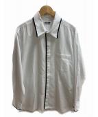 syte(サイト)の古着「ブロードカラーテープシャツ」 ホワイト