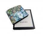GUCCI(グッチ)の古着「2つ折り財布」|ブルー×ネイビー