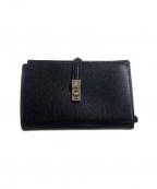Vivienne Westwood(ヴィヴィアンウエストウッド)の古着「2つ折り財布」 ブラック