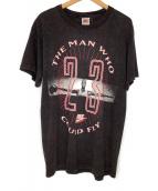 ()の古着「90'sプリントTシャツ」 ブラック