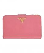 PRADA(プラダ)の古着「2つ折り財布」 ピンク