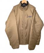 Patagonia(パタゴニア)の古着「マイクロパフジャケット」 ブラウン