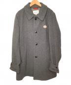 VINCENT ET MIREILLE(ヴァンソンエミレイユ)の古着「ウール混ステンカラーコート」 グレー