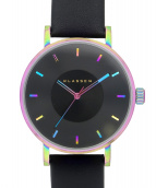 ()の古着「VOLARE Rainbow Black 腕時計」