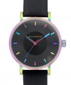 KLASSE14()の古着「VOLARE Rainbow Black 腕時計」
