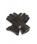 ARMANI JEANS(アルマーニジーンズ)の古着「手袋」|ダークブラウン