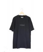 YOHJI YAMAMOTO×NEW ERA(ヨウジヤマモト×ニューエラ)の古着「コットンTシャツ」|ブラック