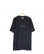 YOHJI YAMAMOTO×New Era(ヨウジヤマモト×ニューエラ)の古着「コットンTシャツ」 ブラック