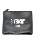 GIVENCHY(ジバンシィ)の古着「クラッチバッグ C.SLG-ZIPPED POUCH L」|ブラック