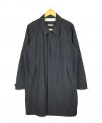 WILD THINGS(ワイルドシングス)の古着「アーバンコート 防水ナイロンコート ブラック」|ブラック