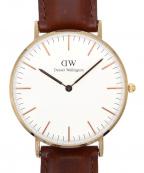 Daniel Wellington(ダニエルウェリントン)の古着「CLASSIC ST MAWES アナログ腕時計」