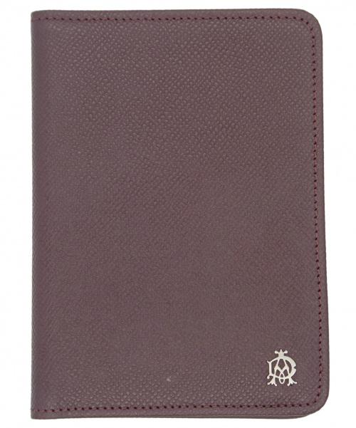 dunhill(ダンヒル)dunhill (ダンヒル) カードケース 名刺入れ ワインレッドの古着・服飾アイテム
