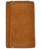 土屋鞄(ツチヤカバン)の古着「トーンオイルヌメ ソフトカバーキーケース ブラウン」 ブラウン