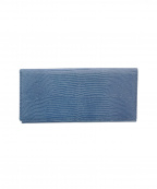 Paul Stuart(ポールスチュアート)の古着「お札入れ リザード調 ブルー」|ブルー