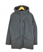 MILLET(ミレー)の古着「トッケ パーカー MIV8557 中綿ジャケット」|グレー