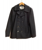 SCHOTT BROS.(ショットブロス)の古着「ショートPコート」|ブラック