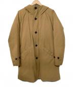 URBAN RESEARCH DOORS(アーバンリサーチドアーズ)の古着「中綿フードコート」 キャメル