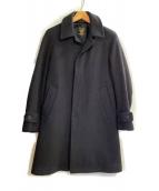 FIDELITY×BEAUTY&YOUTH(フィデリティー×ビューティ&ユース)の古着「メルトンコート TAILORED COAT」|ブラック
