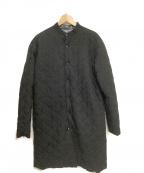 DESIGNWORKS(デザインワークス)の古着「キルティングコート」|ブラック