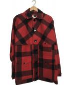 FILSON(フィルソン)の古着「ウールジャケット」|レッド×ブラック