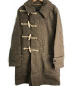 NIGEL CABOURN(ナイジェルケーボン)の古着「トレンチダッフルコート」|ベージュ