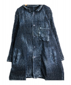 Porter Classic(ポータークラシック)の古着「サシコライトサマーコート」|ネイビー