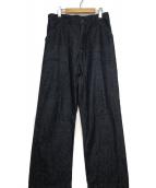 NIGEL CABOURN(ナイジェルケーボン)の古着「デッキパンツ」 インディゴ