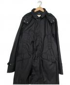 nanamica(ナナミカ)の古着「ショートステンカラーコート」|ブラック
