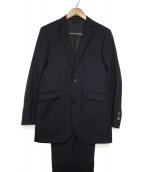BURBERRY BLACK LABEL(バーバリーブラックレーベル)の古着「2Bセットアップスーツ」 ネイビー