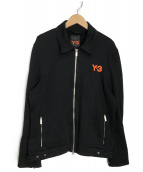 Y-3(ワイスリ)の古着「トラックジャケット」|ブラック