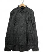Dartin Bonaparto(ダルタン ボナパルト)の古着「ロングスリーブシャツ」 グレー