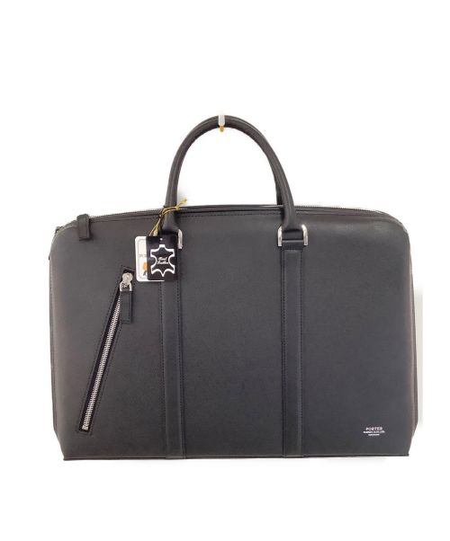 PORTER(ポーター)PORTER (ポーター) ブリーフケース ブラック 未使用品 024-04330  +税の古着・服飾アイテム