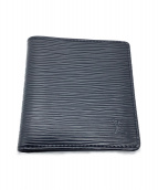 LOUIS VUITTON(ルイ ヴィトン)の古着「2つ折り財布」|ブラック