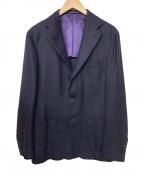 Brilla per il gusto(ブリッラ ペル イルグースト)の古着「3Bテーラードジャケット」|パープル
