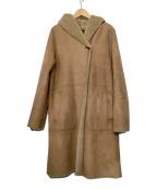 URBAN RESEARCH(アーバンリサーチ)の古着「フェイクムートンコート」|ベージュ