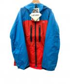 PHENIX(フェニックス)の古着「ナイロンジャケット」|ブルー×レッド