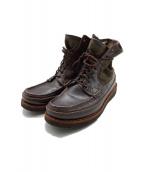 RUSSELL MOCCASIN(ラッセルモカシン)の古着「SHORT PH BOOTS」|ダークブラウン