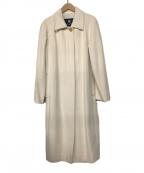 BURBERRY LONDON(バーバリー ロンドン)の古着「ウールコート」|オフホワイト