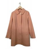 MACKINTOSH LONDON(マッキントッシュ ロンドン)の古着「スプリングコート」|ピンク