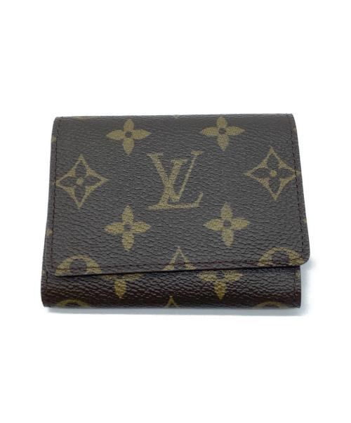 LOUIS VUITTON(ルイ ヴィトン)LOUIS VUITTON (ルイヴィトン) カードケース ブラウン モノグラム M62920 CA0998の古着・服飾アイテム
