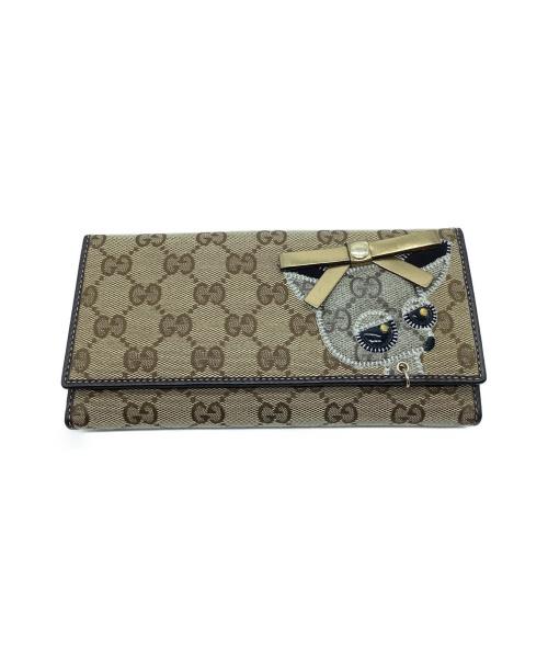 GUCCI(グッチ)GUCCI (グッチ) 長財布 GG 226154 2067の古着・服飾アイテム