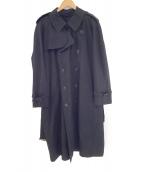 BURBERRY LONDON(バーバリーロンドン)の古着「ライナー付トレンチコート」|ブラック