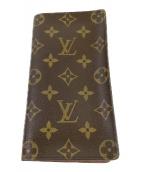 LOUIS VUITTON(ルイヴィトン)の古着「札入れ」|ブラウン