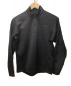 THE NORTH FACE(ザ ノース フェイス)の古着「ハーフジップシャツ」|ブラック