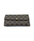 LOUIS VUITTON()の古着「長財布」|ブラウン