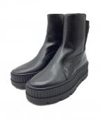 PUMA(プーマ)の古着「スニーカーブーツ」 ブラック