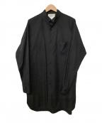 digawel(ディガウェル)の古着「カラーシャツ」|ブラック